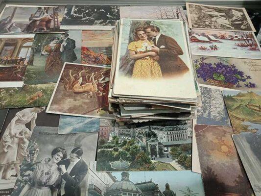 открытки антиквариат