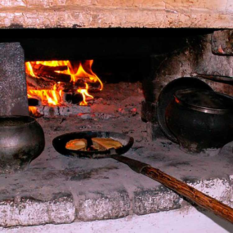 Древняя сковорода
