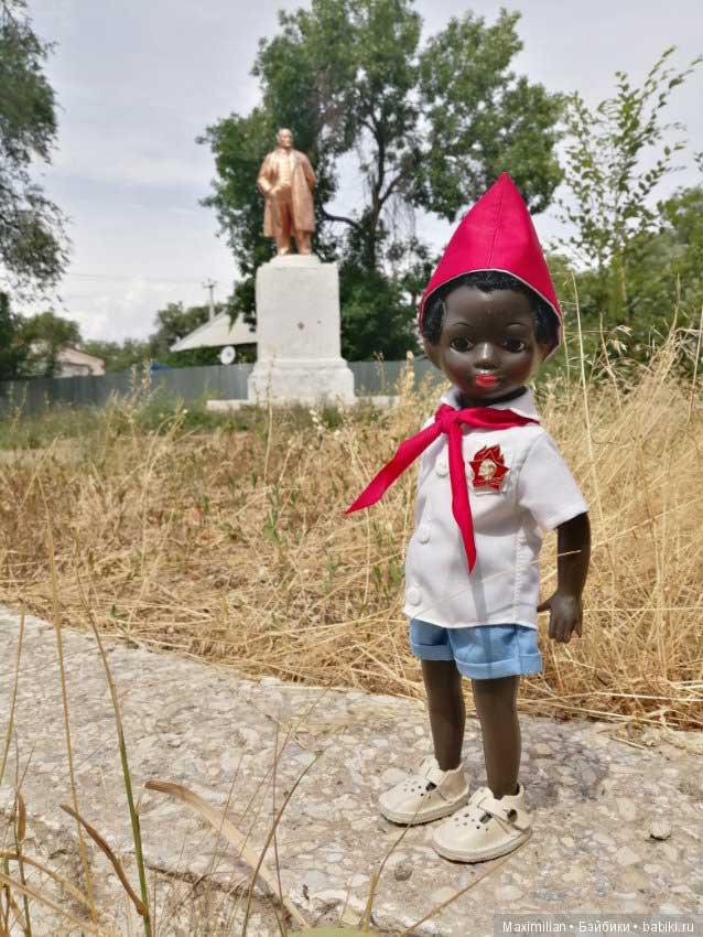 кукла Негритенок