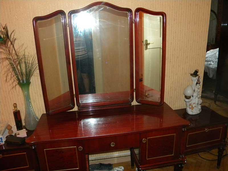 Трюмо с зеркалом СССР