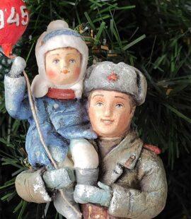 ватная игрушка СССР