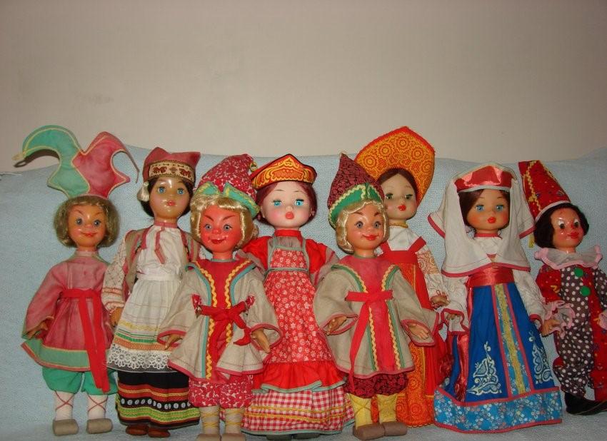 Куклы СССР фабрики 8 марта