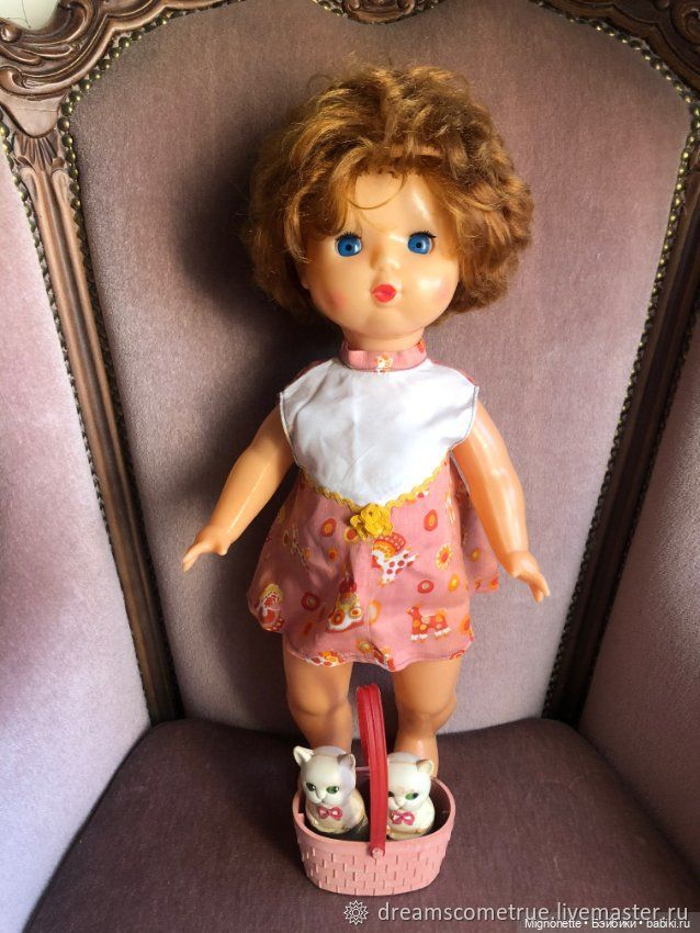 Кукла СССР Алёнка