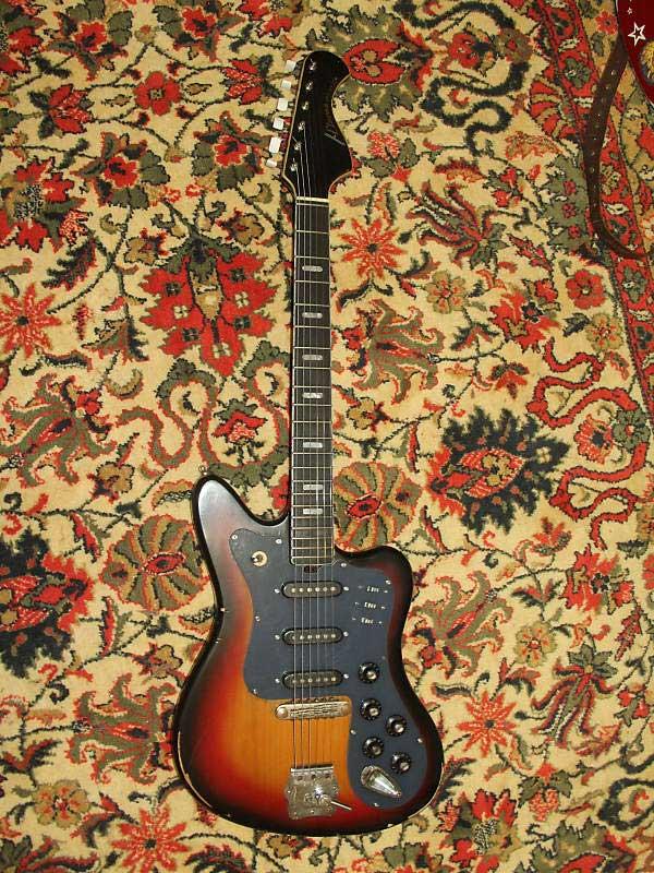 Советские гитары